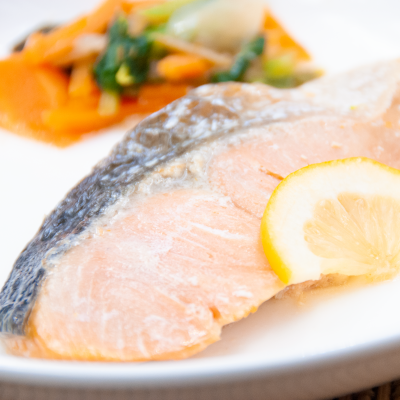 出汁香る鮭の焼き漬けのイメージ