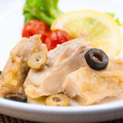 若鶏のオリーブ煮込みのイメージ