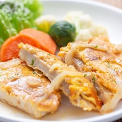 豚ロース肉のピカタ バター醤油ソースのイメージ