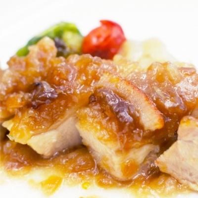 鶏もも肉のマーマレードソースのイメージ