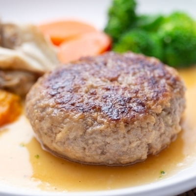 バター醤油ハンバーグのイメージ