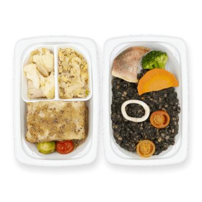 大豆と野菜のミートローフ ハニーマスタードソース+Eのイメージ