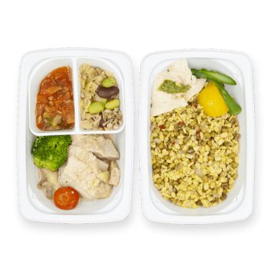 鶏肉とマッシュルームのクリーミーソテー+Cのイメージ
