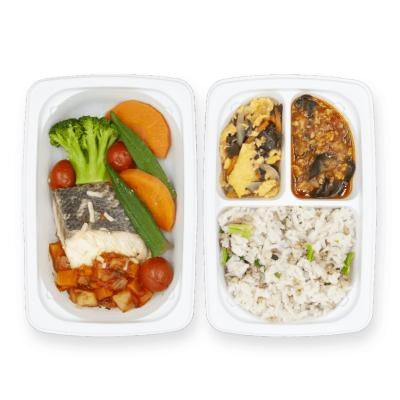 白身魚と野菜のマリナラソース煮のイメージ
